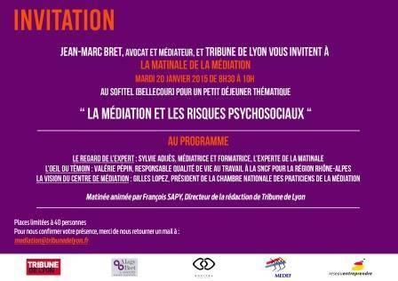 Médiation et gestion des risques psycho-sociaux à Lyon