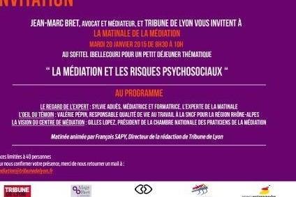 Risques psychosociaux et médiation