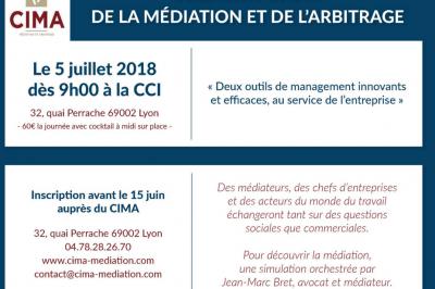 Forum de la Médiation et de l'Arbitrage à Lyon